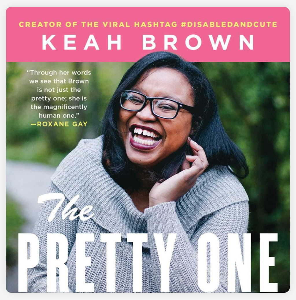 Screenshot Of The Cover Of Keah Brown's Book 'The Pretty One'