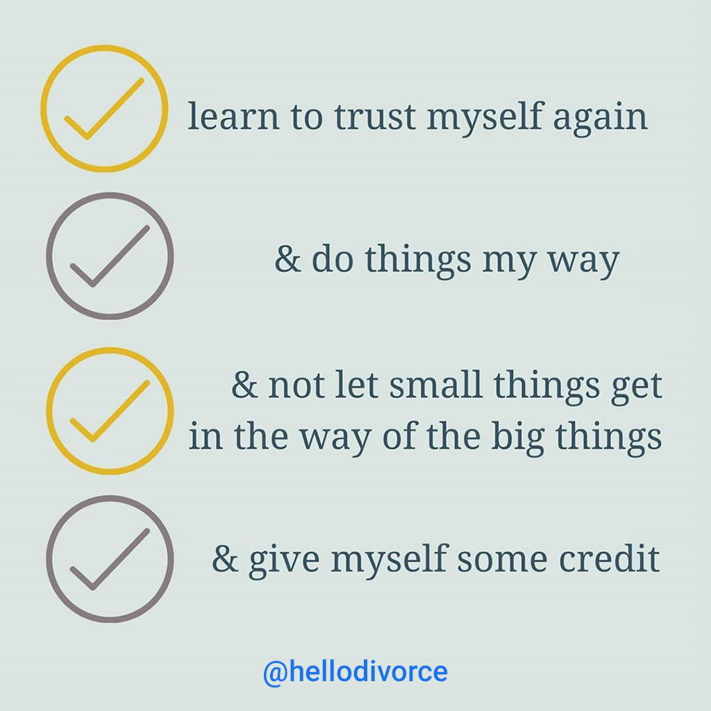 A List Of Tips To Encourage Self Care Like Learning To Trust Yourself Again, Doing Things Your Way, Not Letting Small Things Get In The Way Of Big Things And Giving Yourself Some Credit